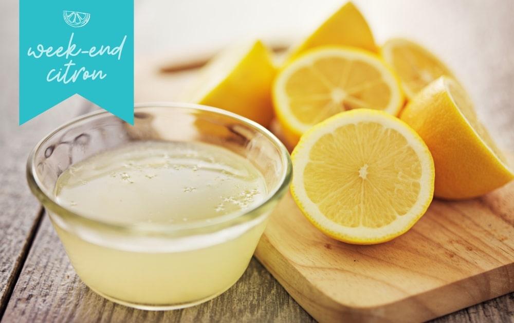 レモンの防腐剤